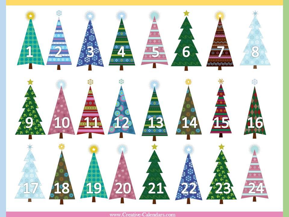 Free Printable Advent Calendars inside Xmas Advent Calendar WordPress Plugin