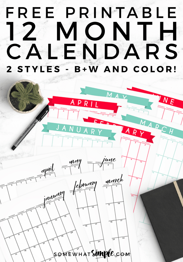 Free Printable Calendar  2018 Calendar Template with regard to Blank Instagram Template 2018