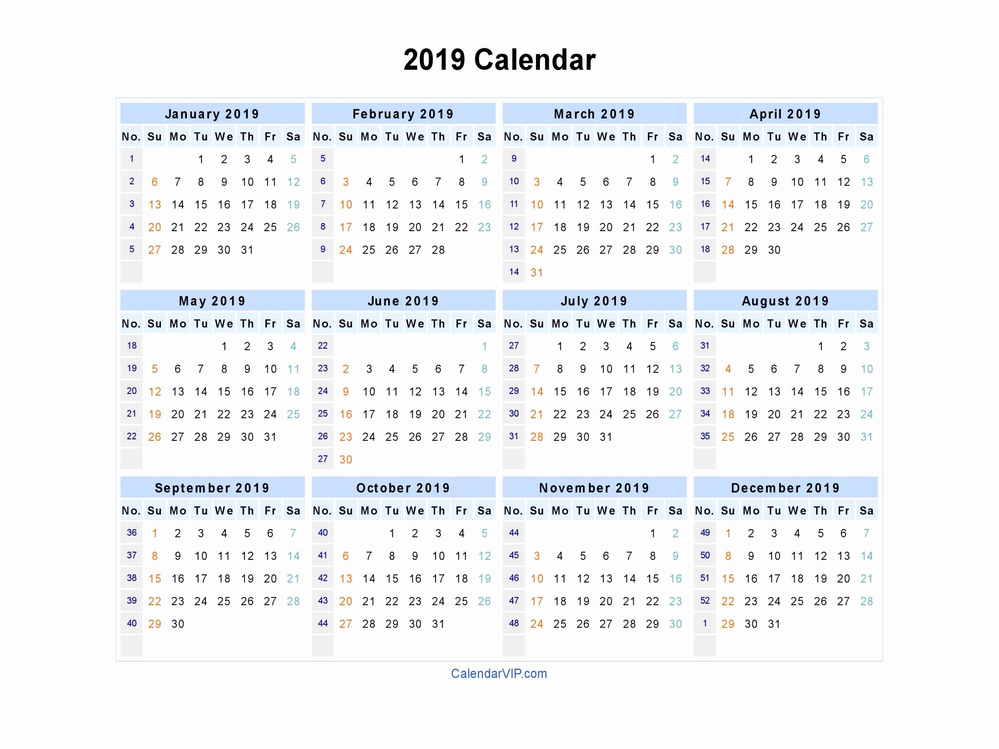 Free Printable Calendar 2019 In Word Excel Pdf | Printable pertaining to 3 Month Printed A3 Calendar 2021