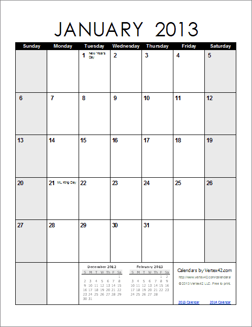 Free Printable Calendar  Printable Monthly Calendars within Blank Monthly Calendar Portrait