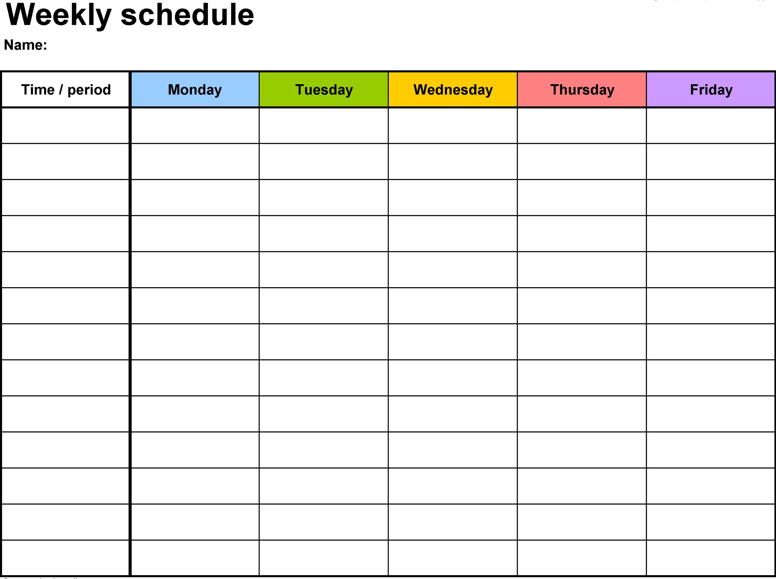 Free Printable Calendar With Time Slots | Calendar pertaining to Printable Calendar With Time Slots