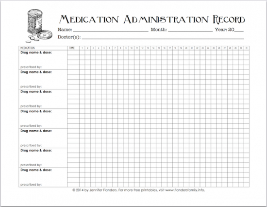 Free Printable Chart For Tracking Medicines | Medication inside Am Pm Schedule Template