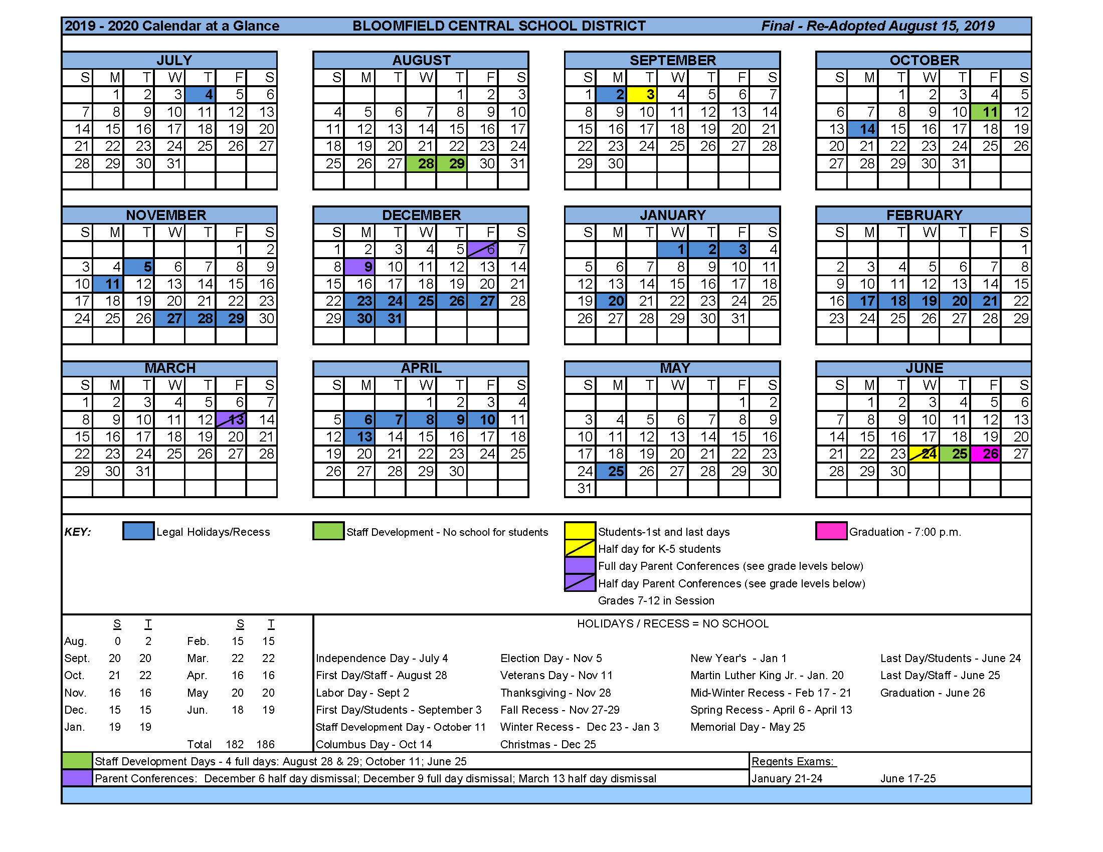 Garnet Valley School District 202120 Instructional throughout Pb County School Calendar
