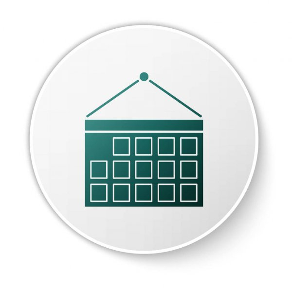 Geotechnical Engineering Soil Testing Icon — Stock Vector with regard to Calendar Icon Green