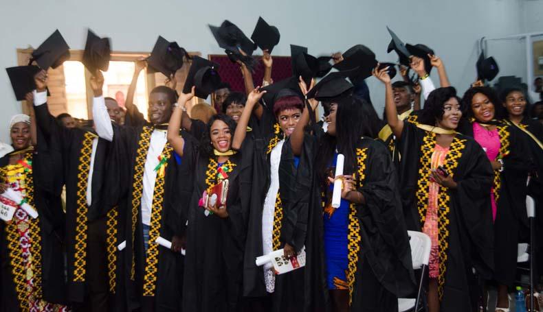 Gh Media School Holds 4Th Graduation inside Gh Dawe School
