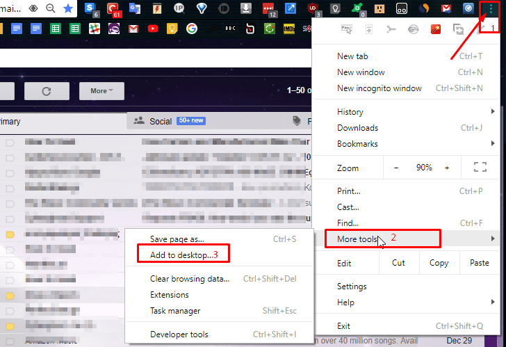 Gmail Icon On Desktop Windows 10 At Vectorified inside Google Calendar Taskbar