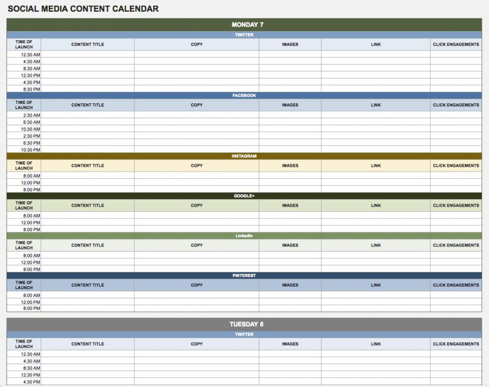 Google Sheets Calendar Template | Shatterlion inside Google Excel Calendar Template