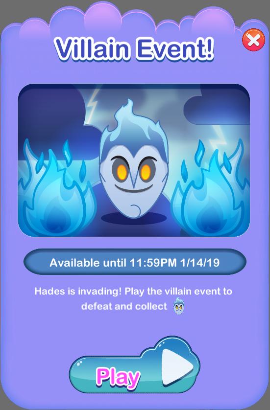 Hades Villain Event  Disney Emoji Blitz Fan Site throughout Disney Emoji Blitz Event Calendar