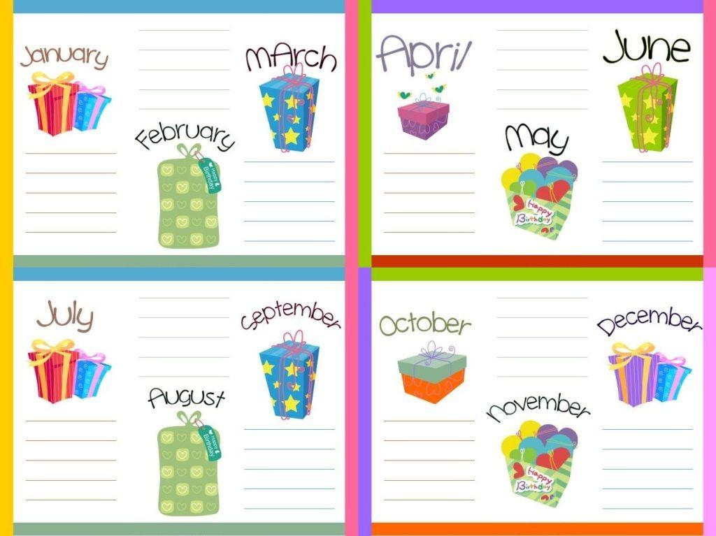 Happy Birthday Calendar Template #Birthdaycalendar # with Birthday Calendar Template For Classroom