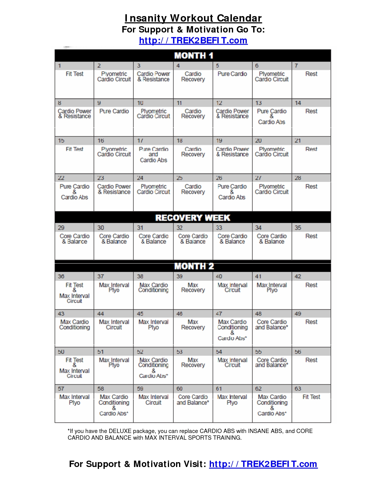 Hip Hop Abs Schedule Printable | Calendar Template 2020 intended for Hip Hop Abs Schedule