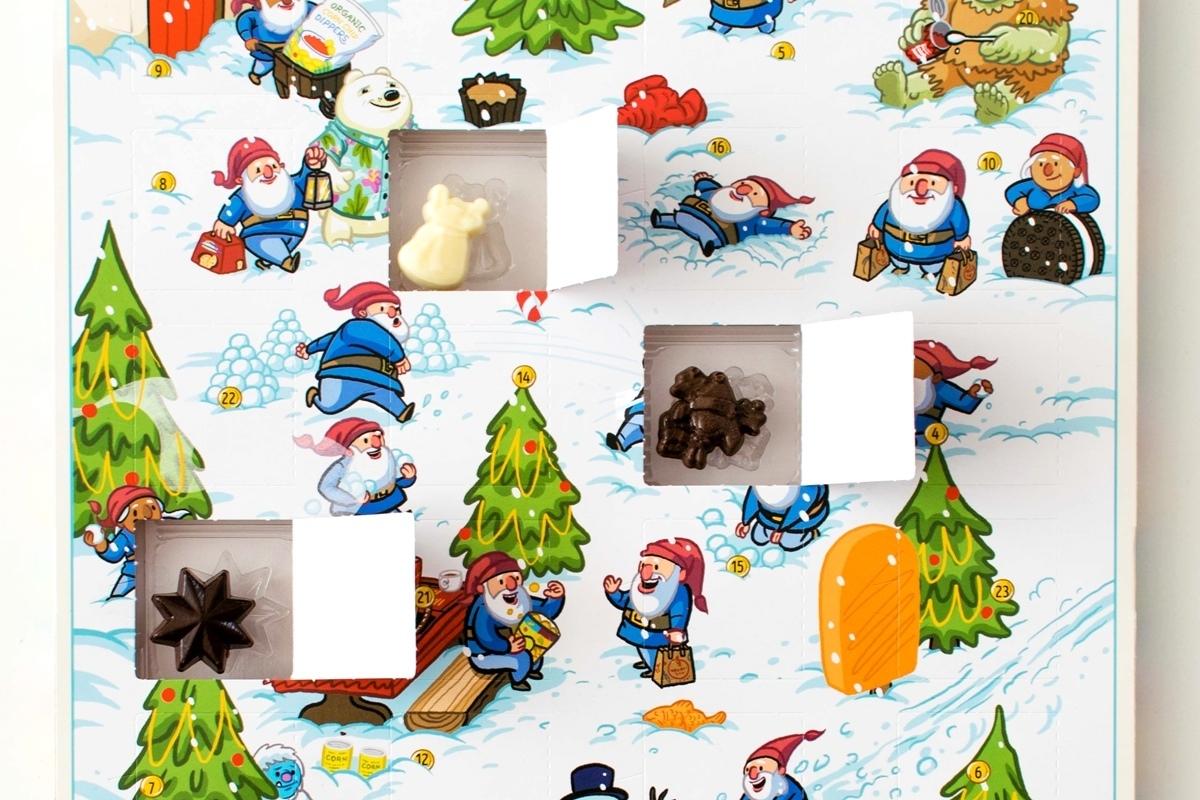 Holiday Countdown Calendar Chocolate | Free Calendar within Xmas Advent Calendar WordPress Plugin