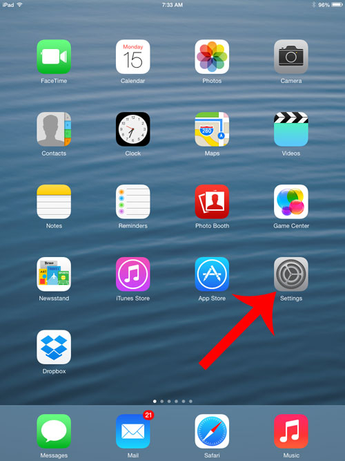 How To Stop Showing Calendar Events On The Ipad 2 Lock with regard to Glyphicon-Calendar Icon Not Showing