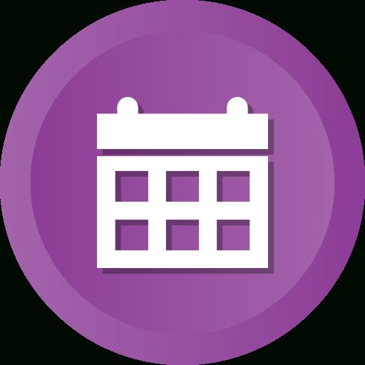 Icono Calendario, Fecha, Evento, Mes, Calendario Gratis De within Calendar Circle Icon