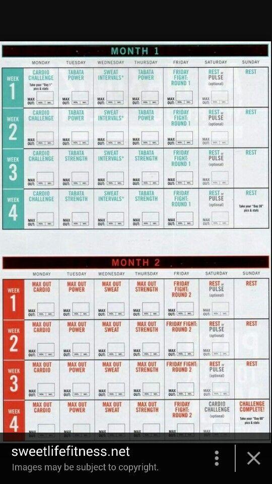 Insanity Max 30 Schedule | Insanity Max, Insanity Max 30 regarding Calendar Insanity Max 30