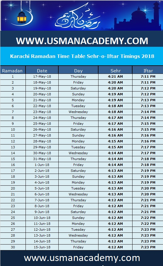 Karachi Ramadan Calendar 2020 Timing Time Table pertaining to Islamic Calendar Date Today In Pakistan