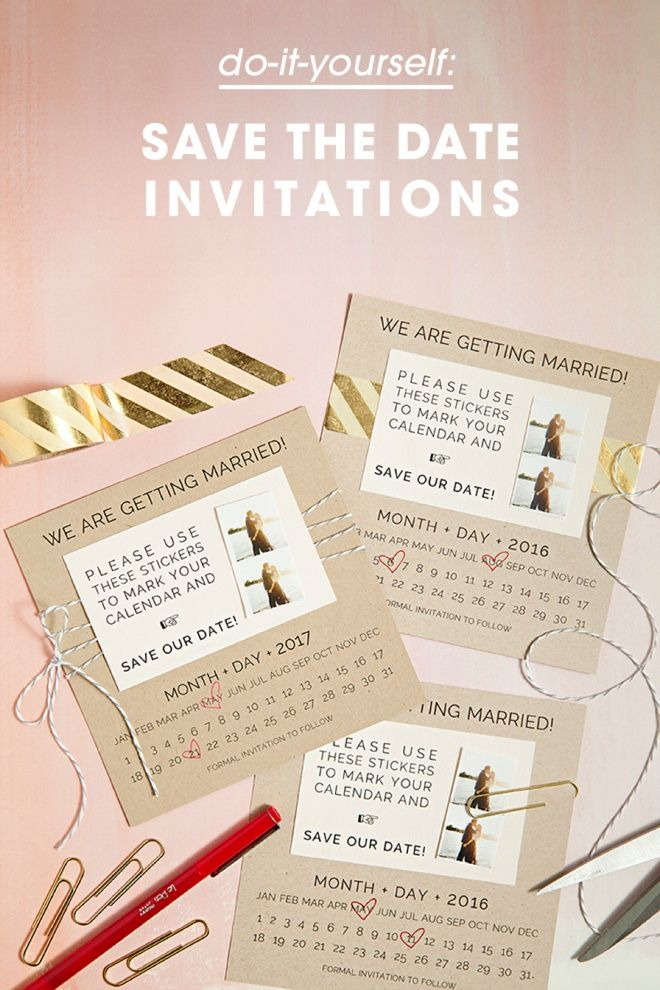 Learn How To Diy Save The Dates With Calendar Stickers pertaining to Please Save The Date In Your Calendar