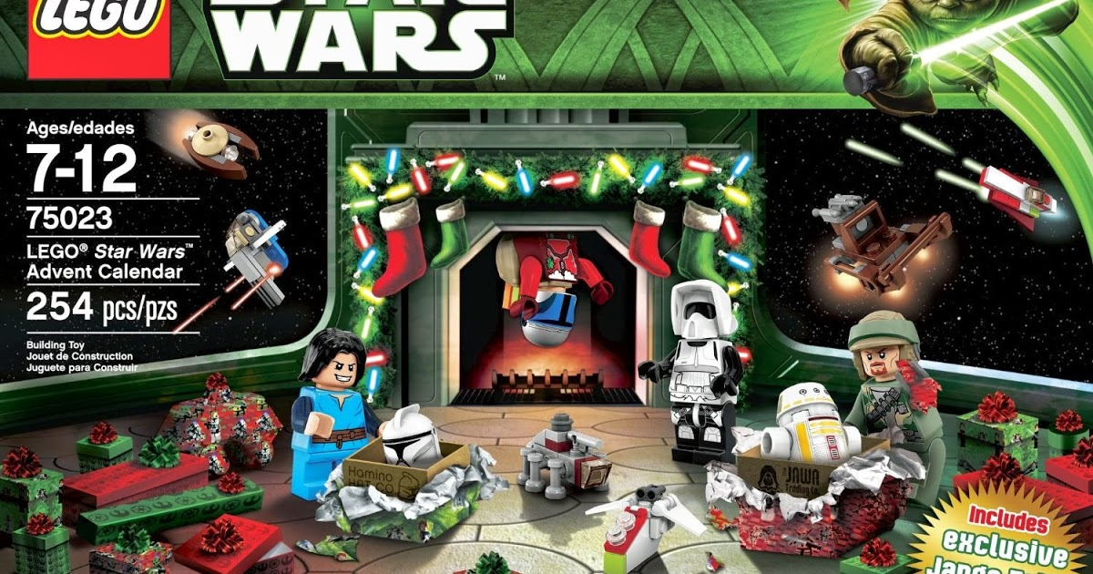 Lego Advent Calendar: Lego Star Wars 75023 Advent Calendar in Lego Star Wars Advent Calendar 2013