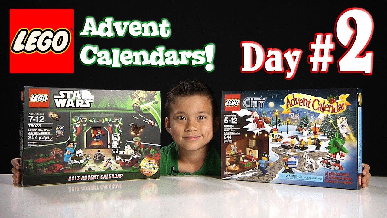 Lego City Advent Calendar & Lego Star Wars Advent Calendar throughout Lego Star Wars Advent Calendar 2013