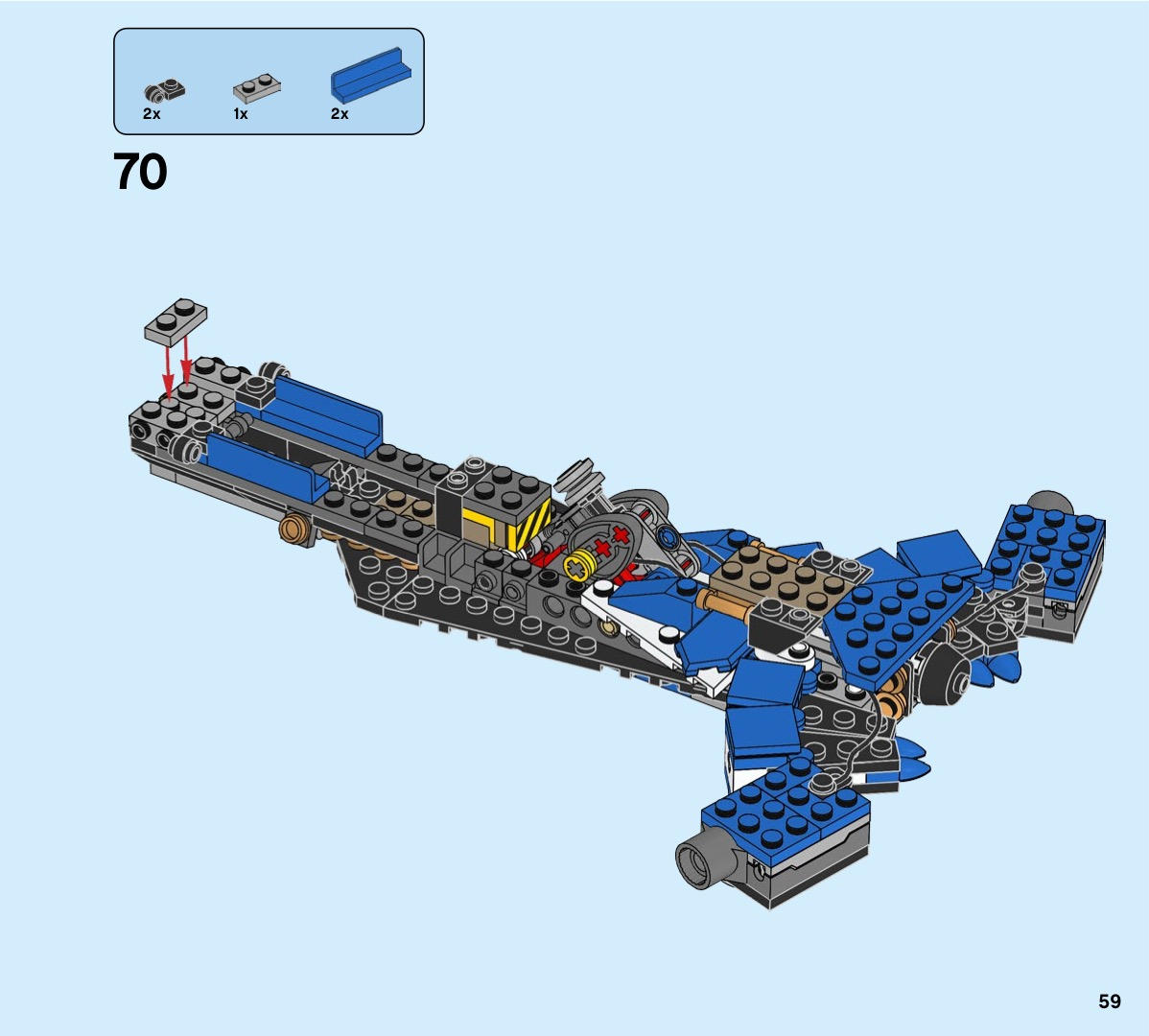 Lego Jay'S Storm Fighter Instructions 70668, Ninjago with Jays Brick Blog