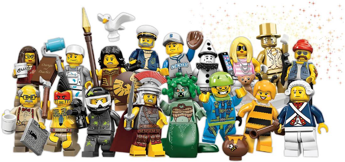 Lego Minifigures Series 10 Photos Revealedwith Golden in Jays Brick Blog