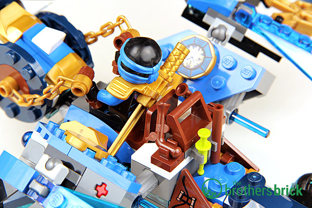 Lego Ninjago 70602 Jay'S Elemental Dragon [Review] | The within Jays Brick Blog