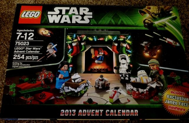 Lego Star Wars 2013 Advent Calendar 75023 Jango Fett For in Lego Star Wars Advent Calendar 2013