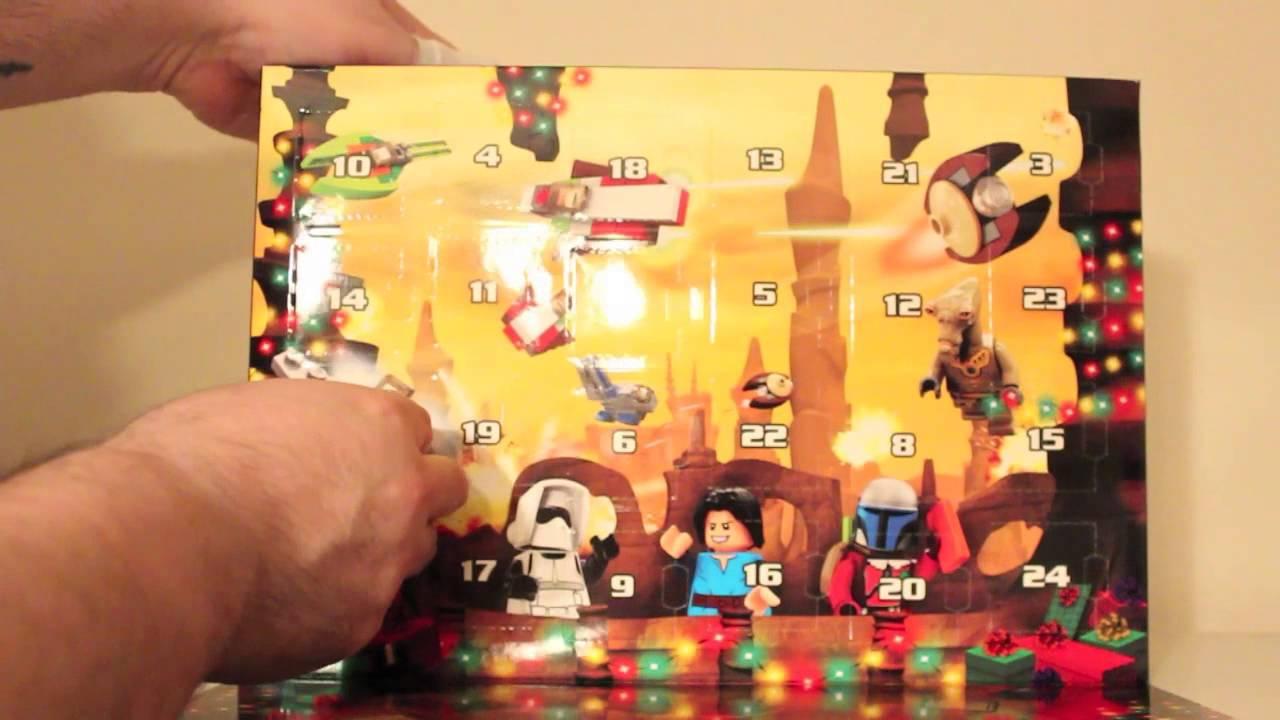 Lego Star Wars 2013 Advent Calendar  Day 1  Youtube throughout Lego Star Wars Advent Calendar 2013