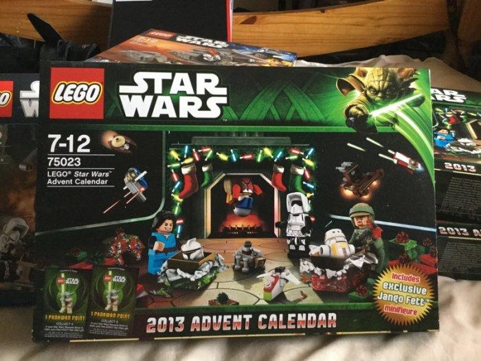 Lego Star Wars Advent Calendar Retired 75023 For Sale In throughout Lego Star Wars Advent Calendar 2013