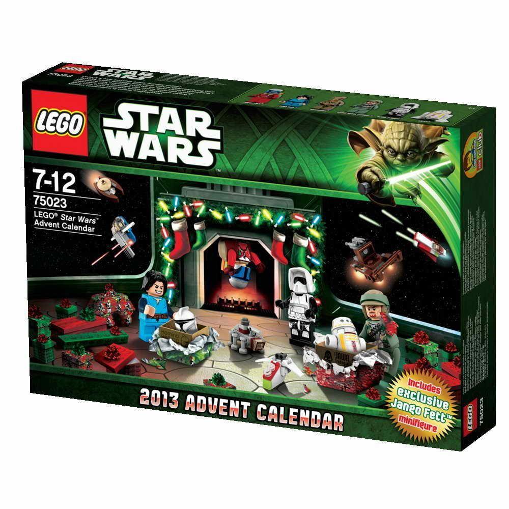 Lego Star Wars Календар Star Wars Advent Calendar  75023 regarding Lego Star Wars Advent Calendar 2013