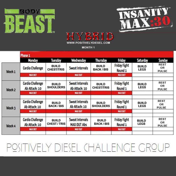 Max 30  Body Beast Hybrid | Positively Dieselwhere in Body Beast Insanity Max 30 Hybrid