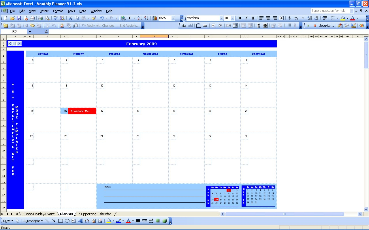 Monthly Schedule Template Excel  Task List Templates for Time And Action Calendar Excel