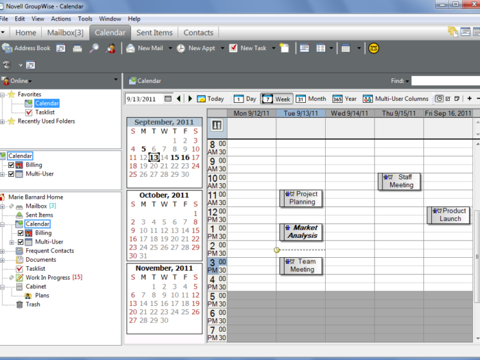 Novell Doc: Groupwise 2012 Windows Client User Guide regarding Glyphicon-Calendar Icon Not Showing