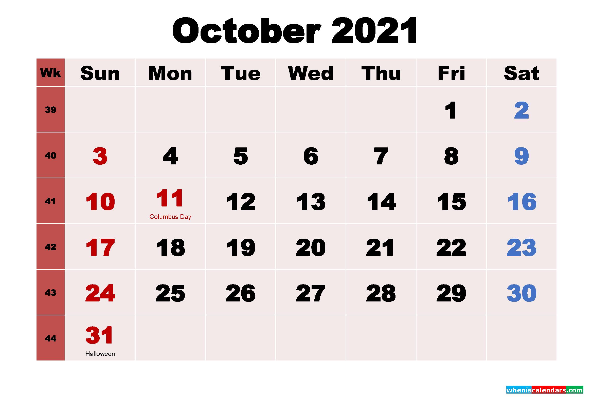October 2021 Wallpaper Calendar | Lunar Calendar pertaining to Khmer Calendar 2021 Wallpaper