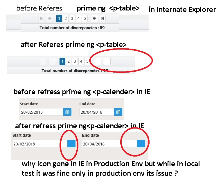 P Table Primeng Not Working | Www.microfinanceindia intended for Primeng Calendar Icon Not Showing