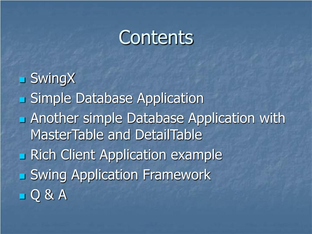 Ppt  Creating Of Rich Client Applications Using Netbeans throughout Datepicker In Java Swing