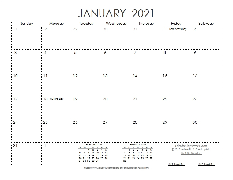 Print 2021 Calendar By Month | Calvert Giving in 2021 3 Month Monthly Printable Calendars