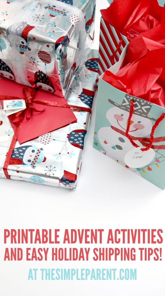Printable Advent Calendar Activities & Holiday Gift Giving with regard to Xmas Advent Calendar WordPress Plugin