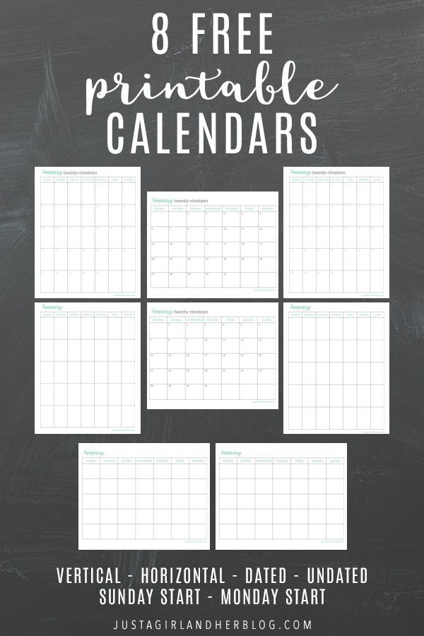 Printable Calendar | Printable Calendar Pages, Free inside Most Goals In A Calendar Year