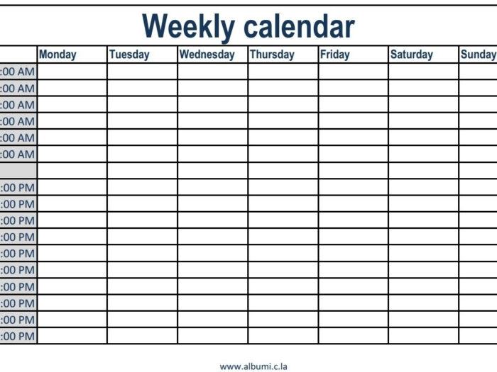 Printable Daily Calendar Without Time Slots  Calendar regarding Daily Calendar With Time Slots