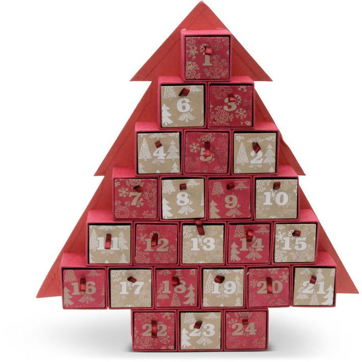 Put Chocolates, Jewellery Or Small Toys In This Advent pertaining to Jennifer Maker Advent Tree