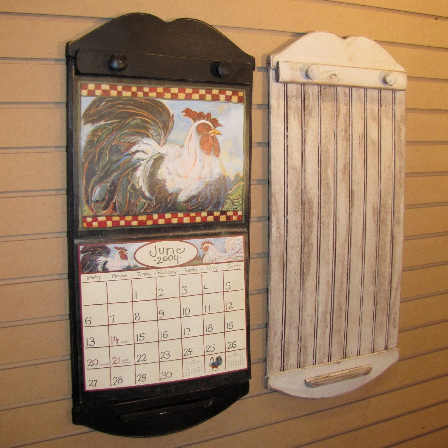Rustic Style Calendar Holder Color Choice By Willowislandprim inside Calendar Frames And Holders