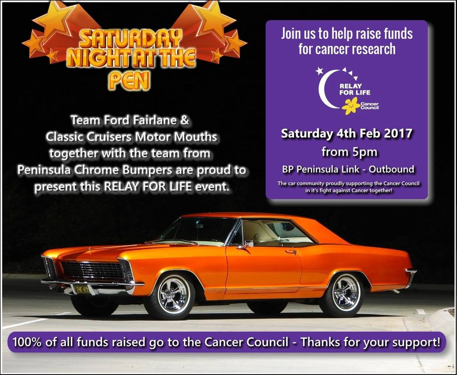 Saturday Night At The Pen  Cancer Council Fundraiser inside Glyphicon-Calendar Icon Not Showing