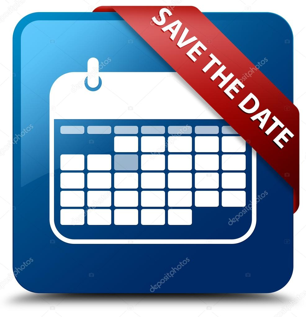Save The Date (Calendar Icon) Glassy Red Ribbon Glossy with regard to Calendar Icon Red