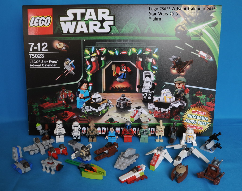 Star Wars Lego 75023 Advent Calendar 2013 | Star Wars Lego with Lego Star Wars Advent Calendar 2013