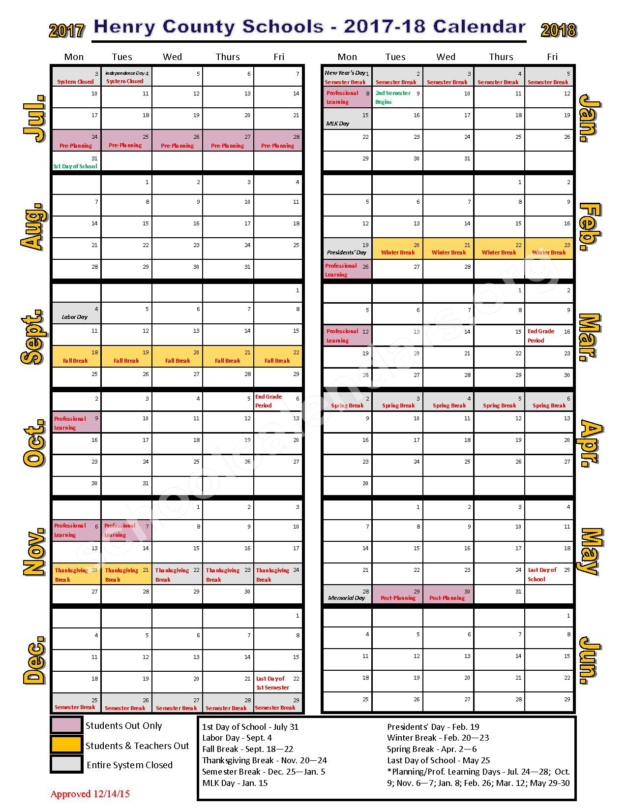 Stockbridge Middle School Calendars  Stockbridge, Ga with Pb County School Calendar