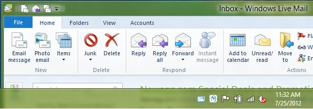 [Tutorial] How To Show Windows Live Mail Icon In System within Iphone Mail Icon Missing