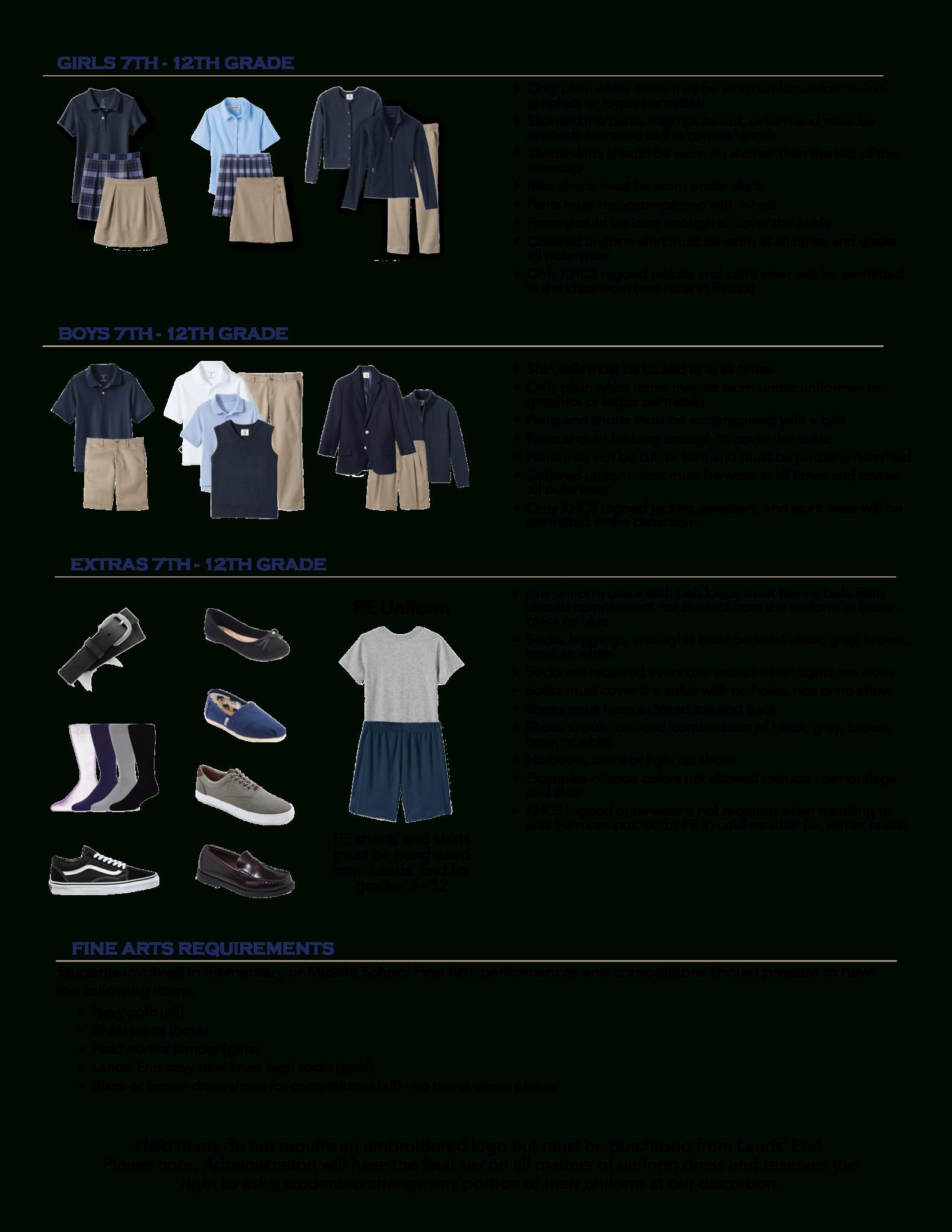 Uniforms | Killian Hill Christian School regarding Killian Hill Christian School Calendar