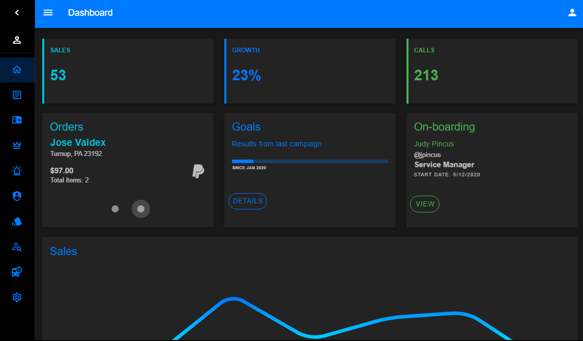 "Vuetify Dashboard Template  Wdstack  Medium inside Dashkit €"" Admin & Dashboard Template Dark/Light"