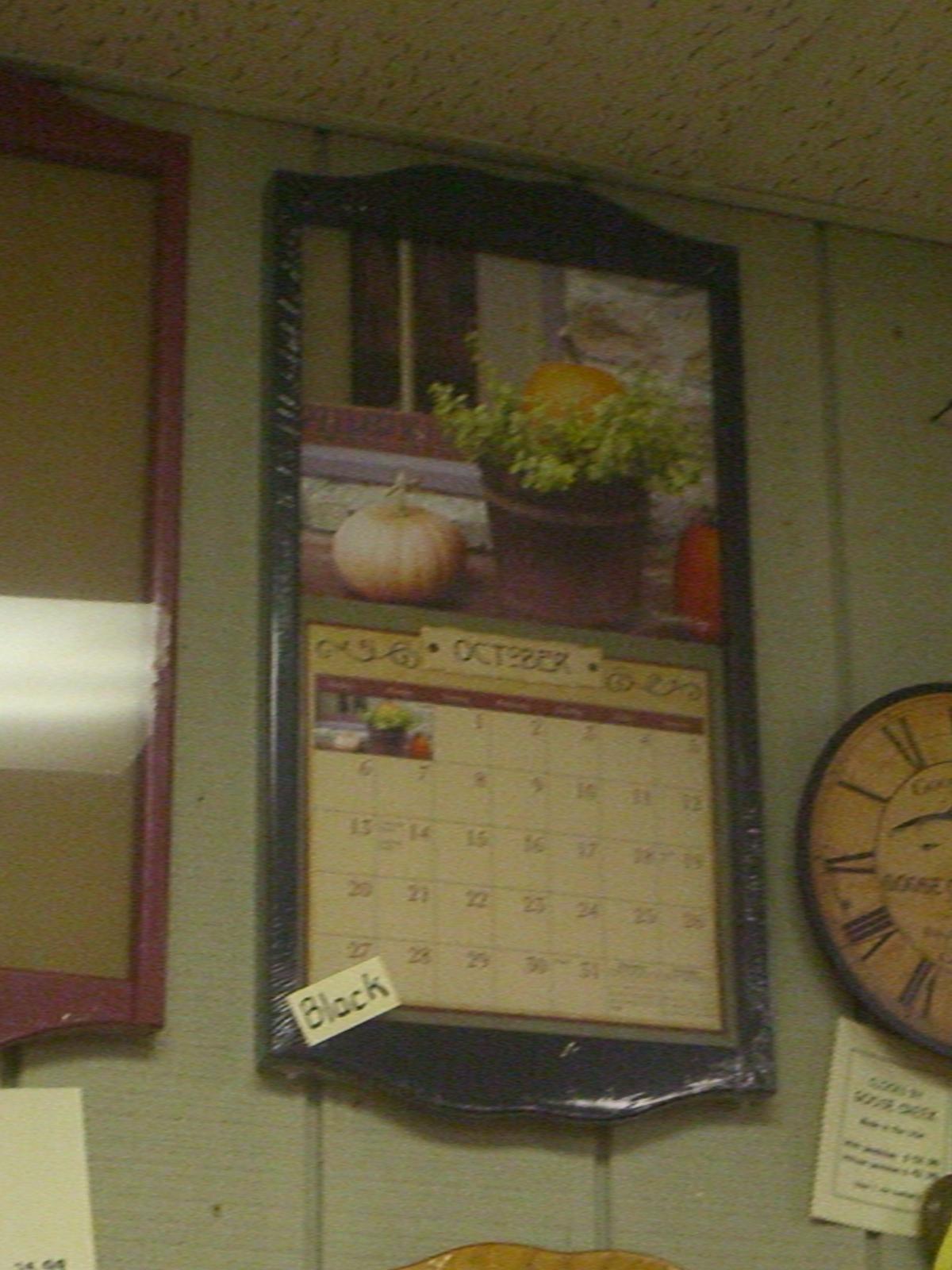 Wall Calendar Frames And Holders  Calendar Inspiration Design within Calendar Frames And Holders