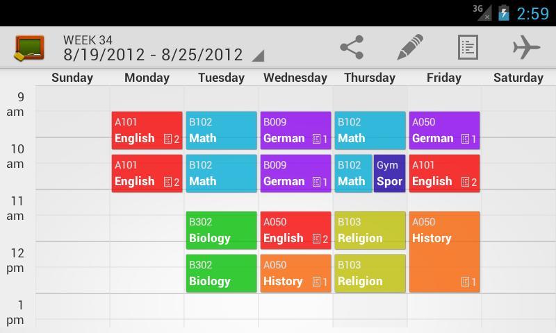 Weekly Class Schedule Maker  Printable Receipt Template throughout Weekly Class Schedule Template